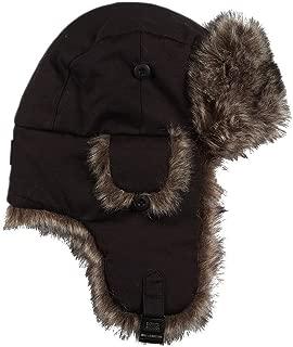 Men Faux Fur Aviator Hat, One Size