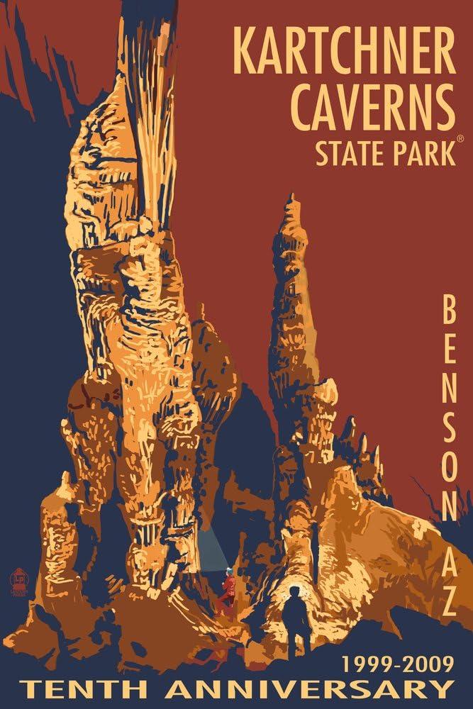Kartchner sold out Caverns - Benson half Arizona Print Gallery Giclee 36x54