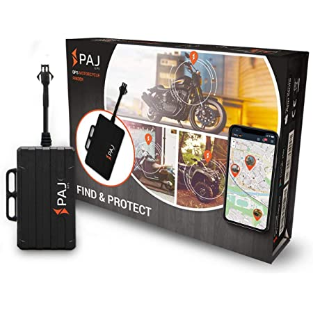 Paj Gps Motorcycle Finder Gps Car Tracker Motorcycle Vehicles And Trucks Motorcycle Anti Theft Tracking Device Direct Connection Car Battery 9 75 V Auto