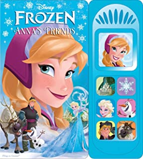 Disney Frozen My First Elsa Anna Sound Book Ages 8-12