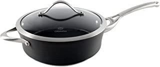 Calphalon Contemporary Hard-Anodized Aluminum Nonstick Cookware, Saute Pan, 3-quart, Black