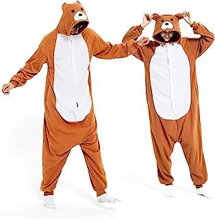 Onesies Adult Animal Costume Halloween Cosplay Sleepwear Onesie Pajamas Christmas for Women/Men