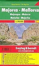 Mallorca, mapa de carreteras de bolsillo plastificado, Island Pocket. Escala 1:190.000. Freytag & Berndt.: Toeristische wegenkaart 1:190 000 (Auto karte)