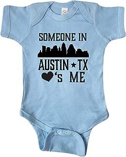 inktastic Austin Texas Someone Loves Me Skyline Infant Creeper