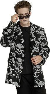 Forum Novelties Men's Skull and Crossbones Costume Jacket