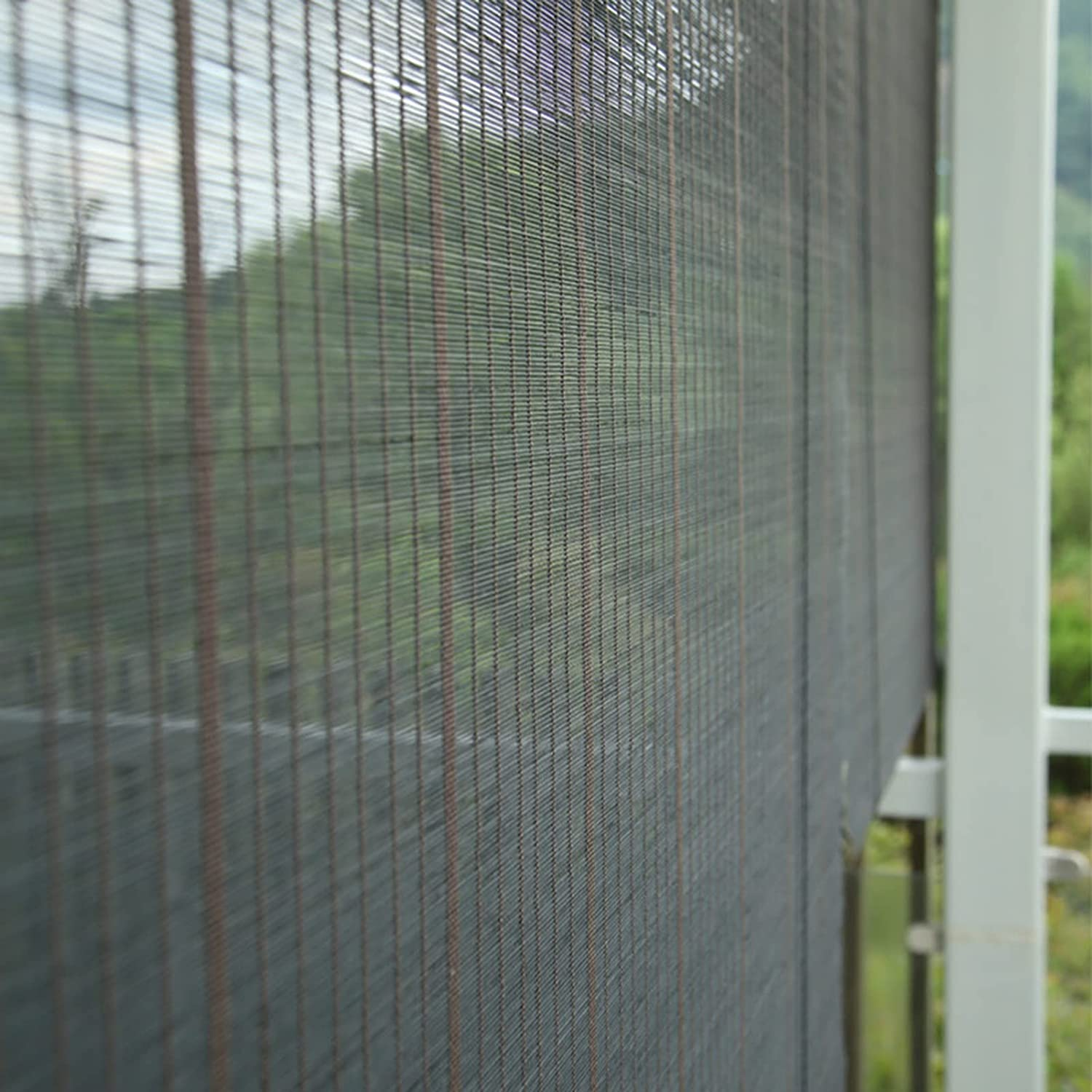 ERLAN Outdoor Outstanding Roller Shades with Up Roll Valance Japanese-Style Now free shipping