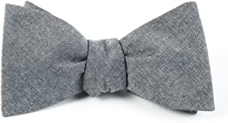 The Tie Bar Classic Chambray 100% Cotton Bow Tie