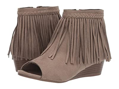Sam Edelman Kids Kelley Fringe (Little Kid/Big Kid) (Taupe) Girls Shoes