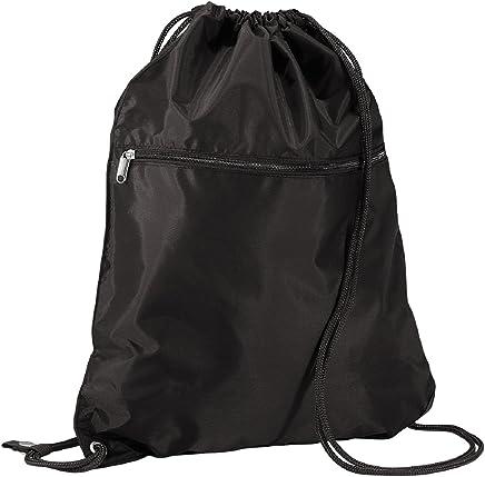 Quadra Men's QD071BLAC Senior Gym Sack, Black, One Size