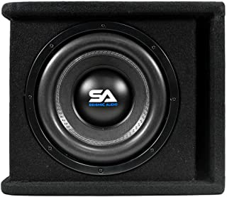 Seismic Audio - OutRage10-10 Inch 800 Watt Car Audio Subwoofer Box Enclosure with Rear Vent photo