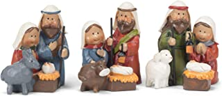Transpac Mini Animals Natural 2 x 2 Resin Stone Christmas Nativity Figurine Set of 3