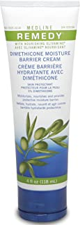 Medline Remedy Unscented Olivamine Dimethicone Skin Protectant, 4 Fluid Ounce