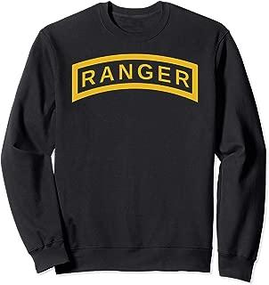 US Army Ranger Yellow Tab | Vintage Airborne Veteran Soldier Sweatshirt