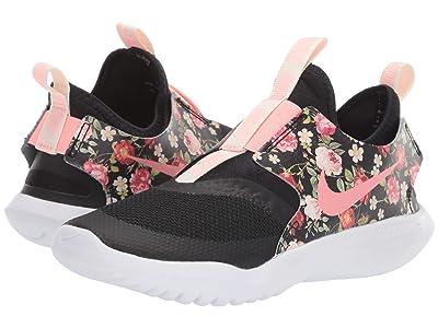 Nike Kids Flex Runner (Little Kid) (Black/Pink Tint) Girls Shoes