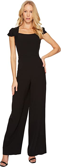 Adrianna Papell - Stretch Crepe Jumpsuit