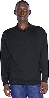 American Apparel Men's Flex Fleece Crossneck Long Sleeve Pullover