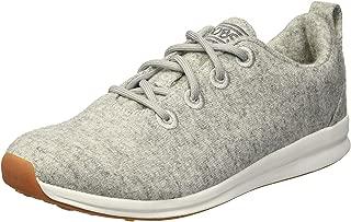 Skechers BOBS Women's Bobs Phresh-Lil Flash. Boiled Wool Oxford W Memory Foam Sneaker