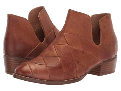 Seychelles Deep Sea Bootie (Cognac Leather) Women