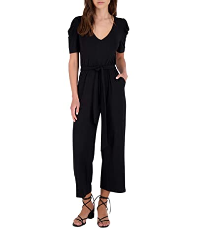 BB Dakota Puff Enough Jumpsuit (Black) Women