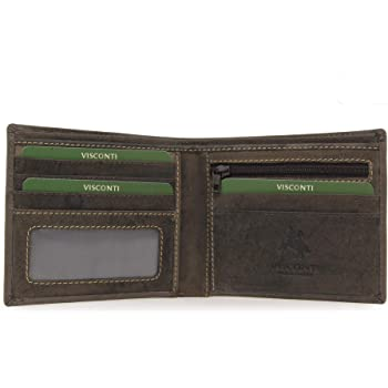 Visconti Oiled Leather SPEAR Wallet 708