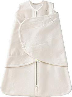 HALO SleepSack Micro-Fleece Swaddle, Cream, Newborn