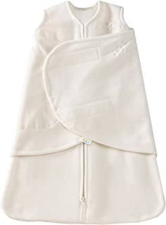 HALO SleepSack Micro-Fleece Swaddle, Cream, Small