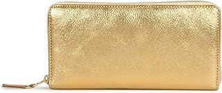 COMME des GARCONS GOLD AND SILVER WALLET コムデギャルソン 財布 長財布 ラウンドファスナー 本革 ゴールド SA0110G ゴールド [並行輸入品]