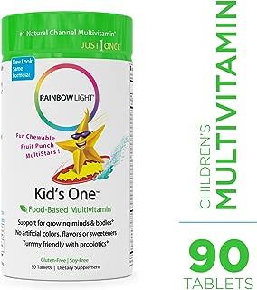 Rainbow Light Kids One Food-Based Multivitamin -90 Tablets