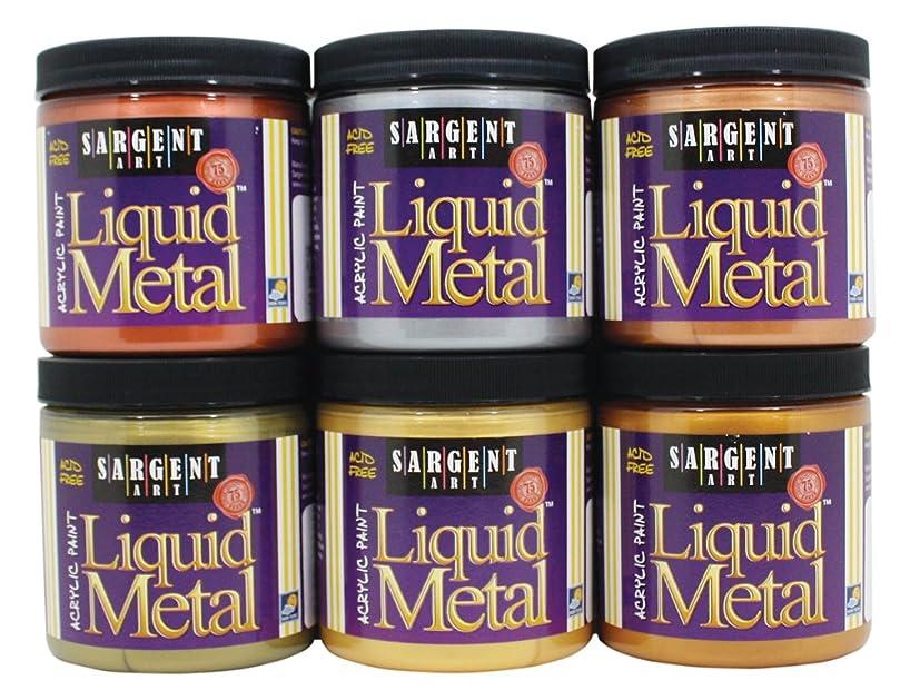 Sargent Art 22-1106 Liquid Metals, Assortment of 6