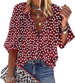 Sheego Blouse Tunique Femmes Taille 40 à 50 Bandes Design Rouge Blanc 781