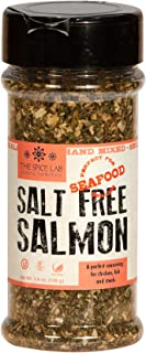 The Spice Lab No. 7023 - Salt Free Salmon & Seafood Seasoning - A perfect blend of Dill, Herbs and citrus. Great on Pork a...