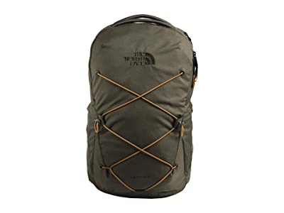 The North Face Jester Backpack (New Taupe Green/Utility Brown) Backpack Bags