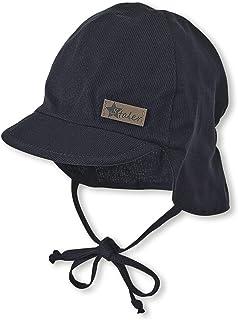 Sterntaler pojkväska Hatt Schirmmütze Mit Nackenschutz