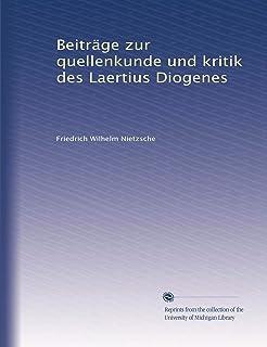 Von dem Leben und den Meinungen berühmter Philosophen (Kleine Philosophische Reihe) (German Edition)