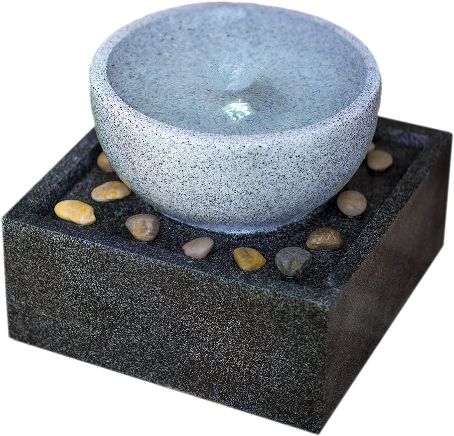 Harmony Fountains Tenaya Granite Vortex S Lights: Our shop most popular Limited time for free shipping Fountain w LED