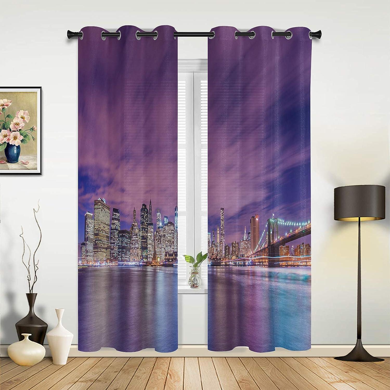 Window Curtains Drapes Panels Ocean Dreamy Sky trend rank Purple Coastal Dallas Mall Bu
