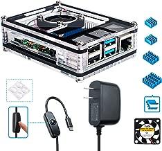 Amazon com: raspberry pi 4 case with fan