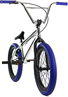 "Elite 20"" BMX Bicycle Destro Model Freestyle Bike - 4 Piece Cr-MO Handlebar"
