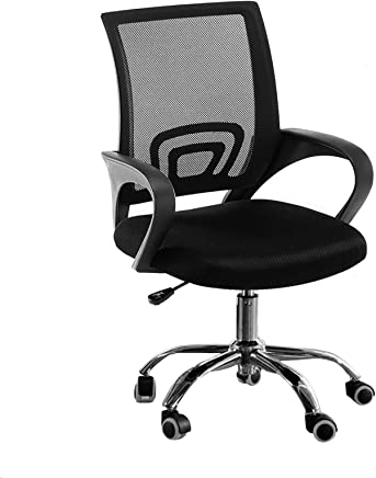Office Mesh Chair Computer Desk Fabric Adjustable Ergonomic Swivel Lift