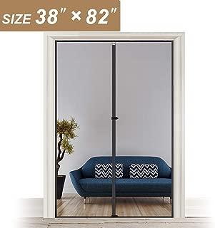 Magnetic Screen Door 38 x 82, Upgraded Anti-Tearing Fiberglass Mesh French Door Screens with Magnets Fit Doors Up to 38