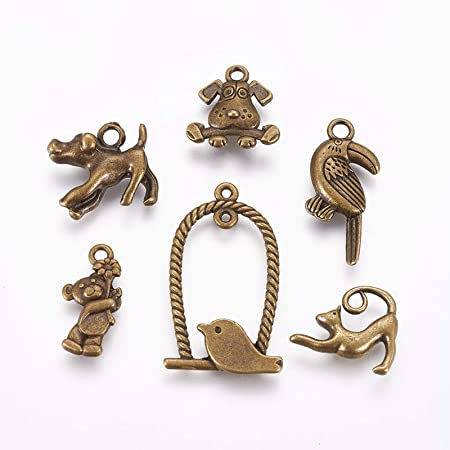 Lot 50pcs Dinosaur Antique Silver Charms Pendants For Jewelry Making DIY 26*14mm