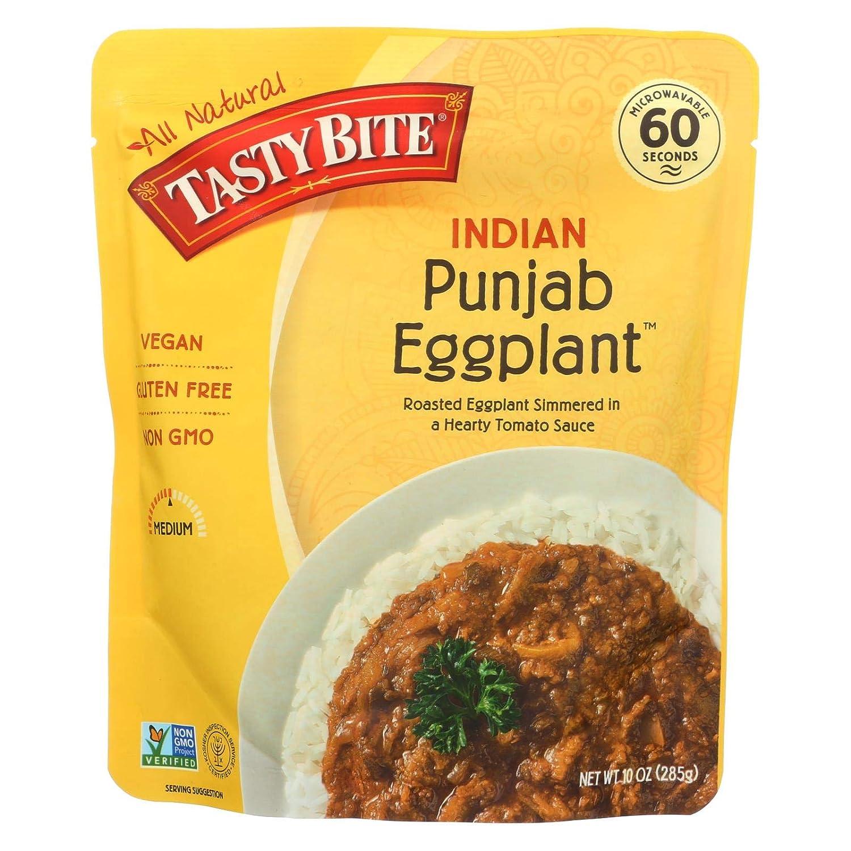 Tasty Bite Entree Alternative dealer - Indian Cuisine A surprise price is realized Eggplant Punjab c 10 oz