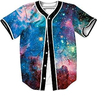 OYABEAUTYE Camiseta Hombre 3D Impreso Verano Casual Camiseta de Béisbol de Manga Corta Hip Hop Tops