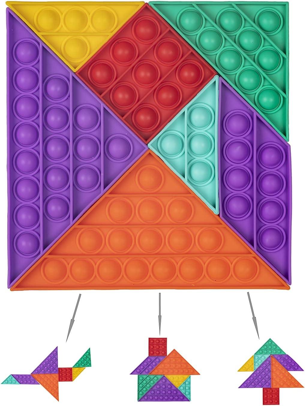 IHRO Pop Its Push Cheap super special price Bubble Sens Sales for sale Fidget Reusable Toy