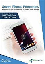OneAssist Accidental, Liquid & Screen Protection Plan for Mobile & Tablets from Rs 12001 to Rs 16000