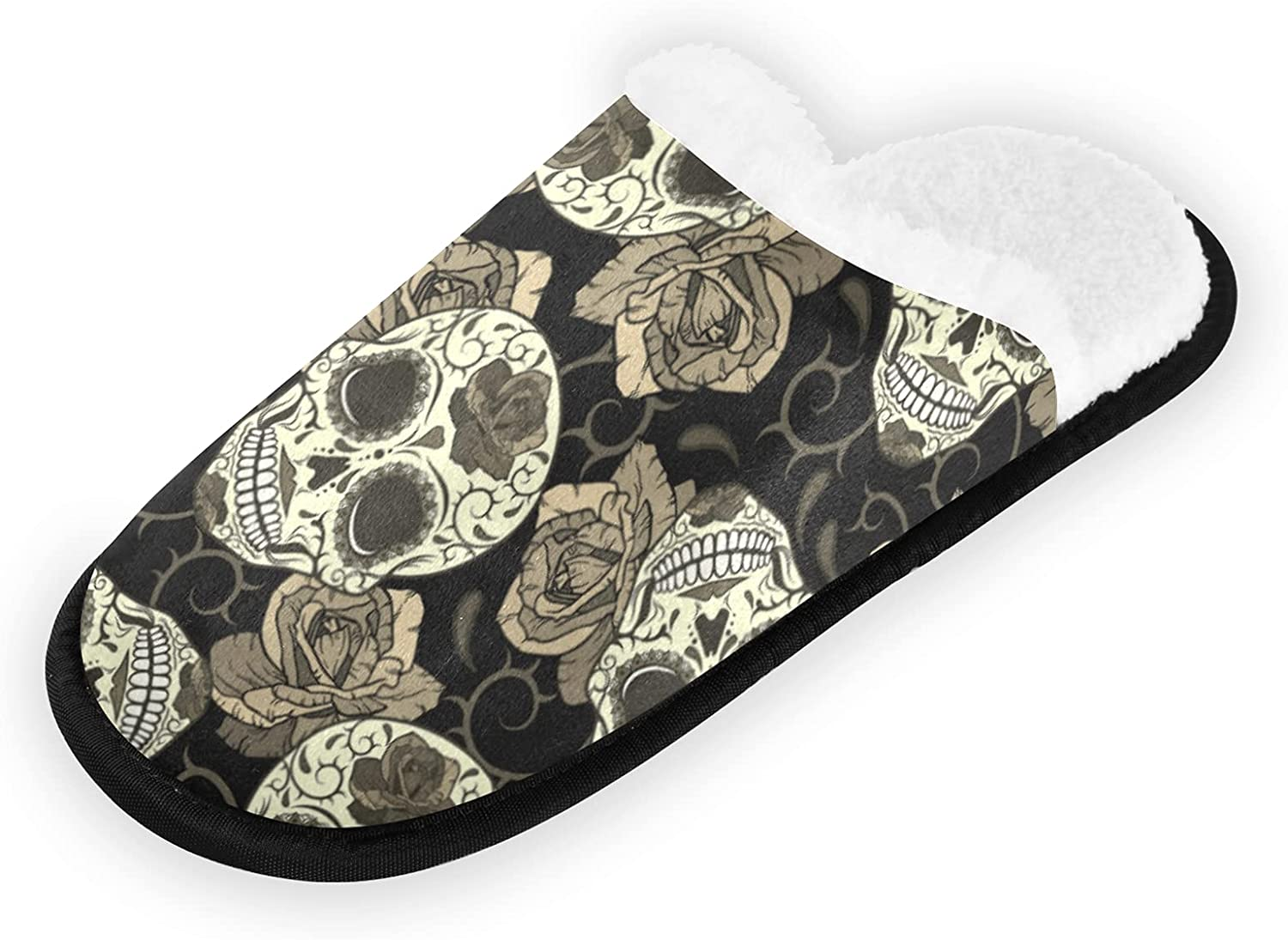 Popular brand Vintage Retro Seamless Gothic Sugar Tho Skulls with Roses Challenge the lowest price of Japan
