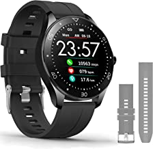 MorePro Smart Watch with 10 Sports,Sp-O2 & Blood Pressure Fitness Tracker,Music Control IP68 Waterproof Activity Watches with Heart Rate,Sleep Trackers Pedometer Step Calories Counter.