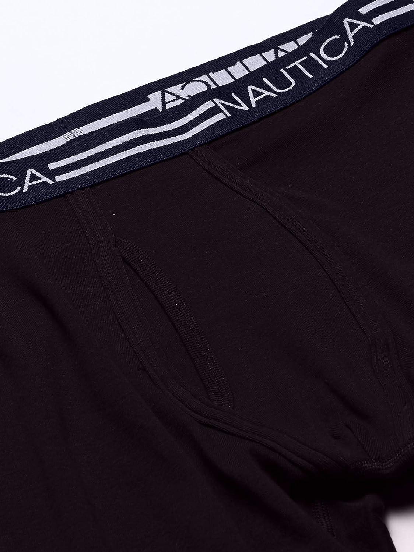 Nautica Men's Classic Cotton Boxer Brief Multipack