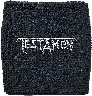Testament Logo Wristband Sweatband