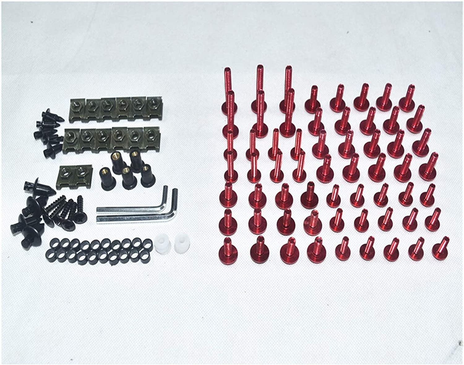 Tatumyin Free Excellence Shipping New Motorcycle Complete Fairing Bolts C Screws Bodywork Kit